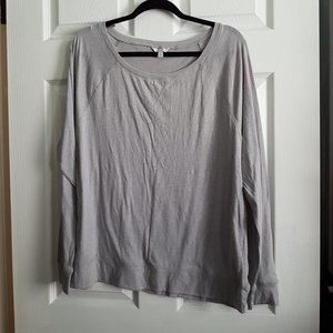 Pure Alfred Sung Grey Long Sleeve Top